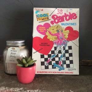 Vintage Barbie Valentines Day Cards